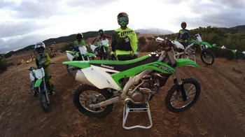 Kawasaki TV Spot, \'Team Green: A Legacy of Champions\' Feat. Jeremy McGrath