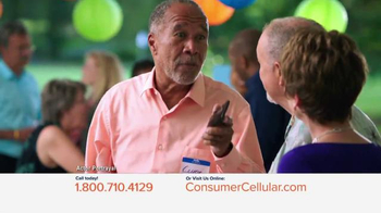 Consumer Cellular TV Spot, 'Connie and Jack are Back at Clyde's Party'