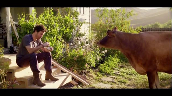 Chobani TV Spot 'To Love This Life Is To Live It Naturally - Cow'
