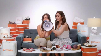 Payless Shoe Source TV Spot, 'Sandalias a mitad de precio' [Spanish]