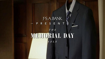 JoS. A. Bank Memorial Day Sale TV Spot, 'Suits and Traveler Shirts'