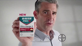 Bayer Pro Ultra Omega-3 TV Spot, 'Importance of Heart Health'