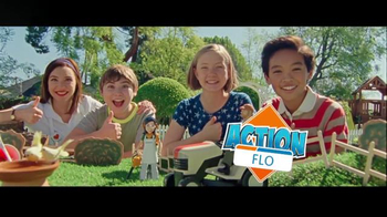 Progressive TV Spot, 'Action Flo' - 10396 commercial airings