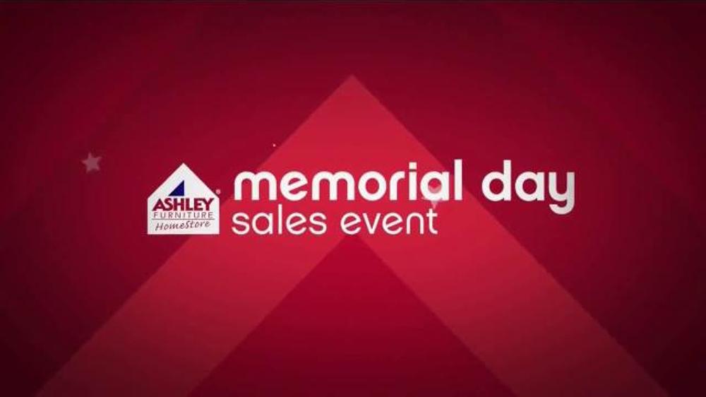 ashley furniture homestore memorial day sales event tv commercial 39 final days 39. Black Bedroom Furniture Sets. Home Design Ideas