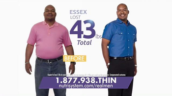 Nutrisystem Fast 5+ TV Spot, \'Real Men\'