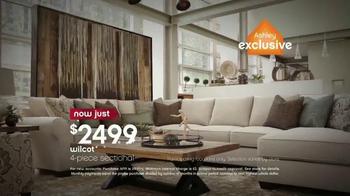 ashley furniture homestore memorial day sales event tv commercial 39 no interest 39. Black Bedroom Furniture Sets. Home Design Ideas