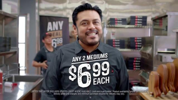 Pizza Hut Any Deal TV Spot, 'Go for It'