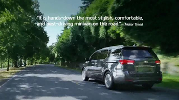 Kia Summer's On Us Sales Event TV Spot, 'Sedona Savings' - 524 commercial airings