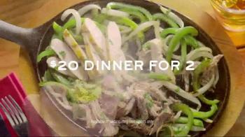 Chili's Fajitas TV Spot, 'Dinner for Two' Song by Terraplane Sun