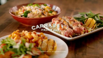Carrabba's Grill Parmesan-Crusted Chicken TV Spot, 'Fresh, Crispy, Zesty'