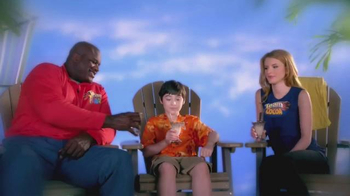 The Ultimate Pebbles V.I.P. Vacation TV Spot, Featuring Shaq, Bella Thorne
