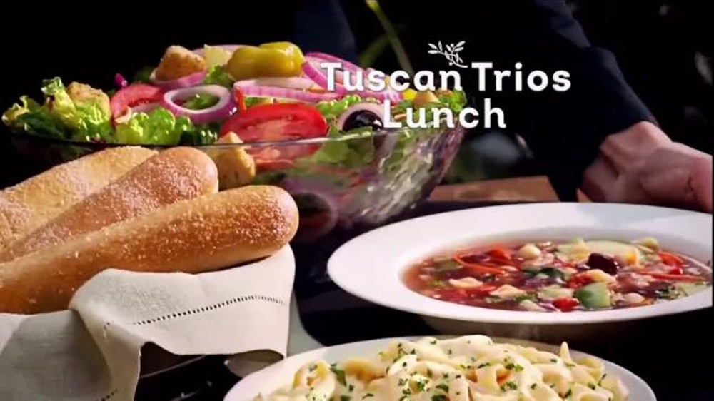 Olive Garden Tuscan Trios Lunch Tv Commercial Soup