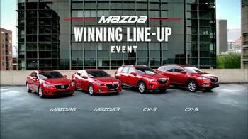 Mazda Winning Line-Up Event TV Spot, 'Mia Hamm's Drive' - Thumbnail 7