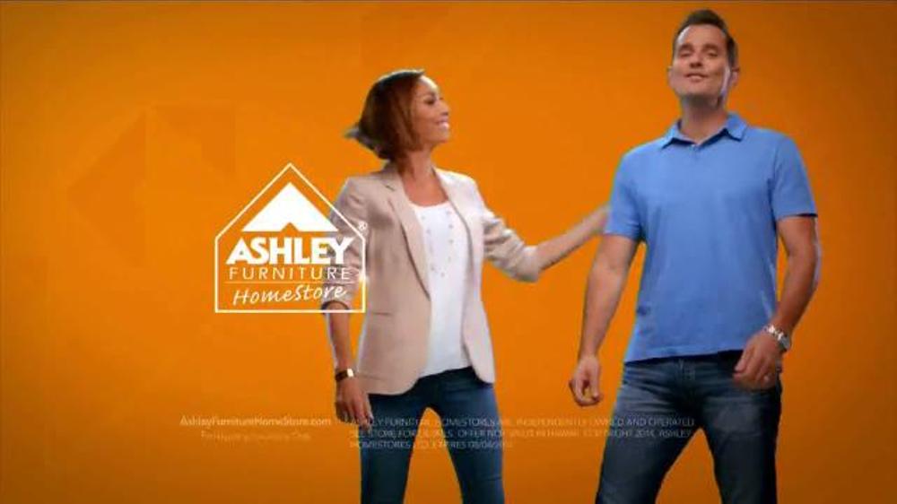 Ashley Furniture Homestore Sale TV mercial Ft Giuliana