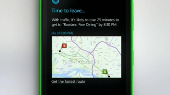 Microsoft Windows Phone TV Spot, 'Siri vs. Cortana: Happy Anniversary' - Thumbnail 8