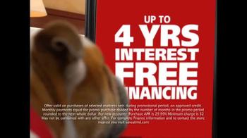 Mattress Discounters TV Spot, 'Four Years Interest Free'