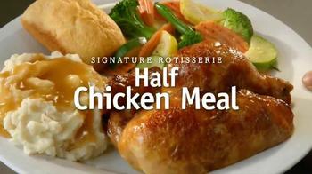 Boston Market Half-Chicken Meal TV Spot