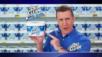 OxiClean White Revive TV Spot, 'Shaking It Up' - 3399 commercial airings