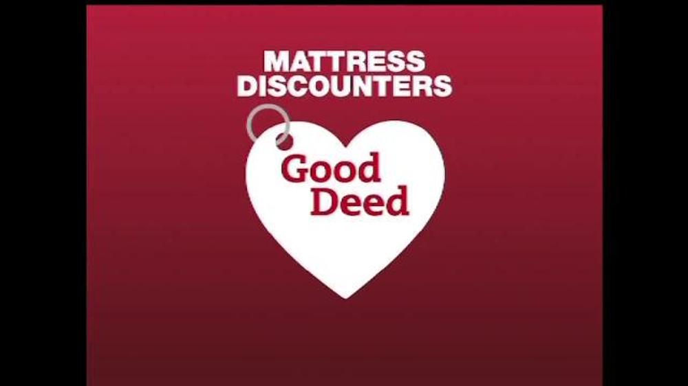 Mattress Discounters Good Deed Dogs TV Spot iSpot