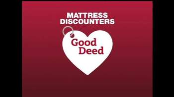 Mattress Discounters Good Deed Dogs TV Spot iSpot