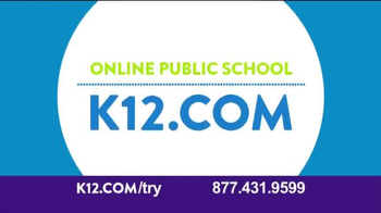 K12 TV Spot, 'More Involved'