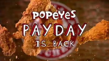 Popeyes TV Spot, 'Payday is Back'