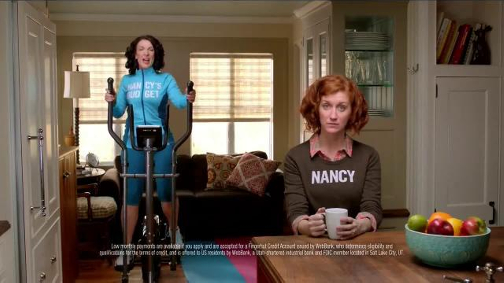 FingerHut.com Nancy and Nancy's Budget TV Commercial ...