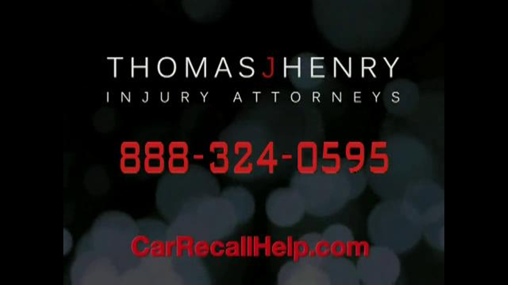 Pulaski Law Firm >> Thomas J. Henry Injury Attorneys TV Commercial, 'Car Recall' - iSpot.tv