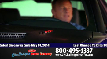 2014 Challenger Dream Giveaway TV Spot - Thumbnail 4