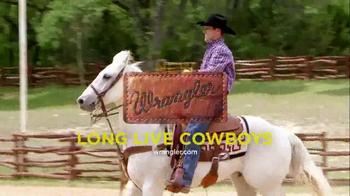 Wrangler Advanced Comfort TV Spot featuring Trevor Brazile
