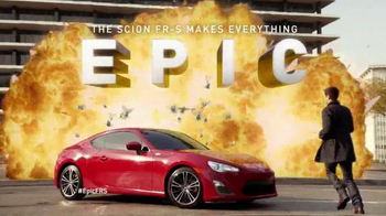 2014 Scion FR-S  TV Spot, 'Makes Everything Epic'