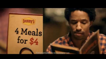 Denny's 4 Meals for $4 TV Spot, 'Boom'