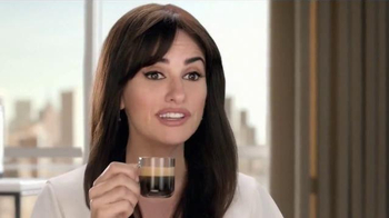 Nespresso VertuoLine TV Spot, 'What Else?' Featuring Penelope Cruz
