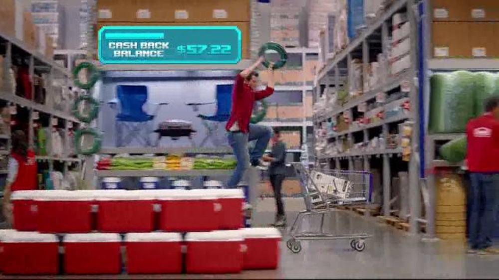 Chase Freedom TV Commercial, 'Lowe's Video Game' - iSpot.tv