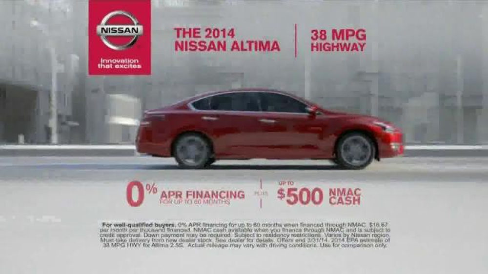 Nissan Now Event TV Commercial, 'Altima Features' - iSpot.tv