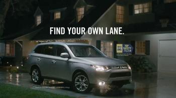 2014 Mitsubishi Outlander TV Spot, 'Rainy Delivery'