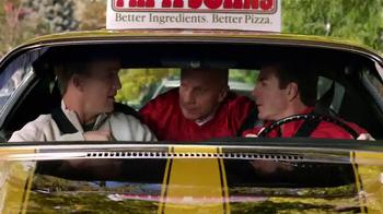 Papa John's TV Spot, 'Locked Time Machine' Featuring Peyton Manning - 554 commercial airings