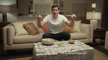 Esurance Super Bowl 2014 TV Spot Featuring John Krasinski - 1 commercial airings