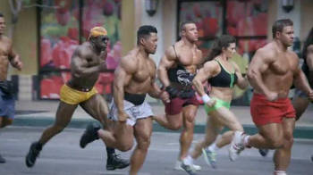 GoDaddy Super Bowl 2014 TV Spot, 'Bodybuilder' Featuring Danica Patrick