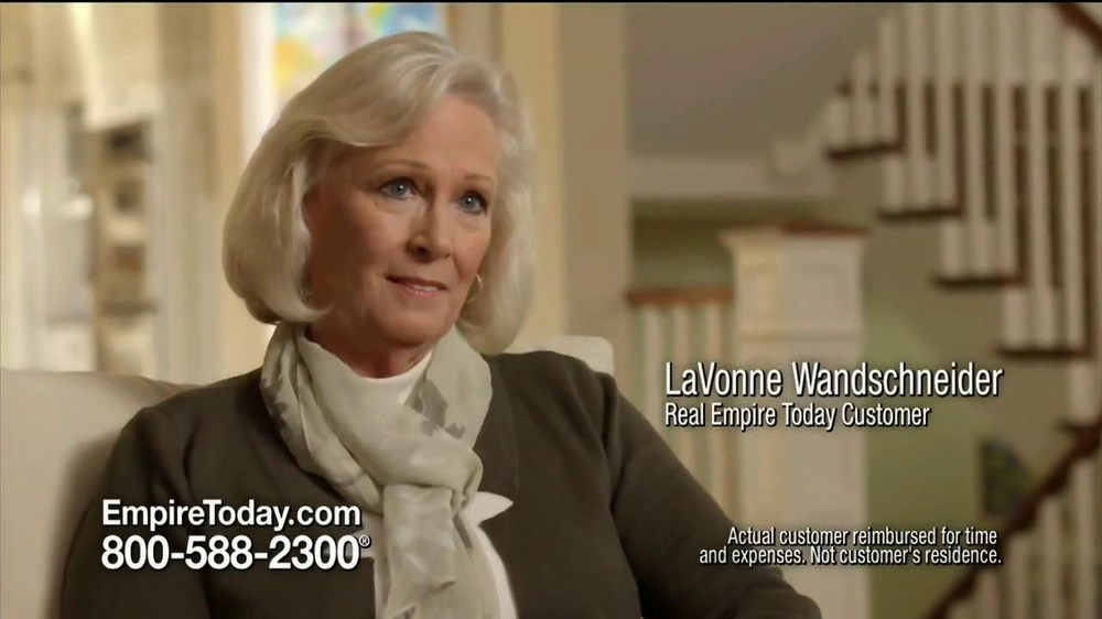 Empire Today TV Commercial, 'LaVonne' - iSpot.tv