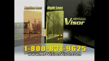 HD Vision Visor TV Spot, 'Beat the Sun' - Thumbnail 9