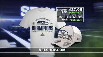 7fac27d3 NFL Shop Seahawks Conference Champions Gear TV Commercial, 'NFC ...