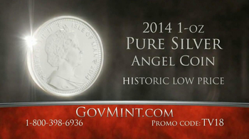 GovMint.com TV Spot, 'Angel Coin' - Thumbnail 7
