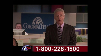 Colonial Penn TV Spot, 'Cubicles' Featuring Alex Trebek - Thumbnail 3