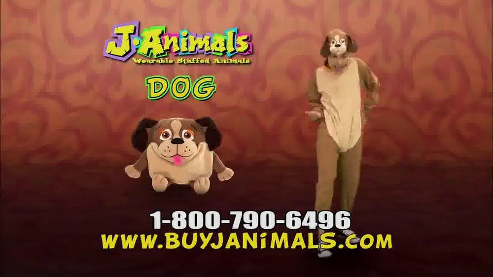 JAnimals As Seen On TV Commercial Buy JAnimals As Seen On TV Wearable Stuffed Animals Suits JAnimals