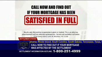Litvin Law Firm TV Spot, 'Disqualified Mortgages'