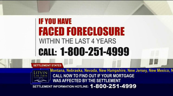 Litvin Law Firm TV Spot, 'Disqualified Mortgages' - Thumbnail 3