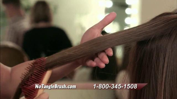 Michel Mercier No Tangle Brush Pro TV Spot, 'Detangle Stubborn Hair'