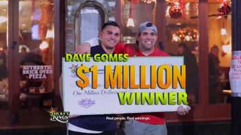 DraftKings Fantasy Football TV Spot, 'Real People, Real Winnings'