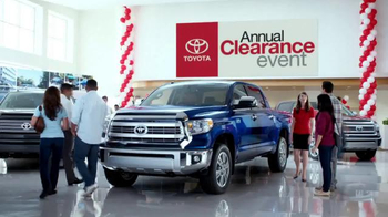Toyota Annual Clearance Event TV Spot, 'Great Story' - 9 commercial airings